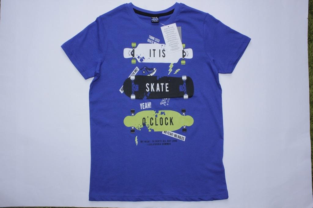 T-shirt Koszulka Bluzka z nadrukiem 146-152 cm