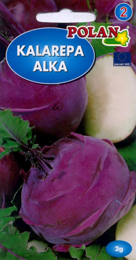 Kalarepa ALKA 2g nasiona warzyw warzywa OKAZJA
