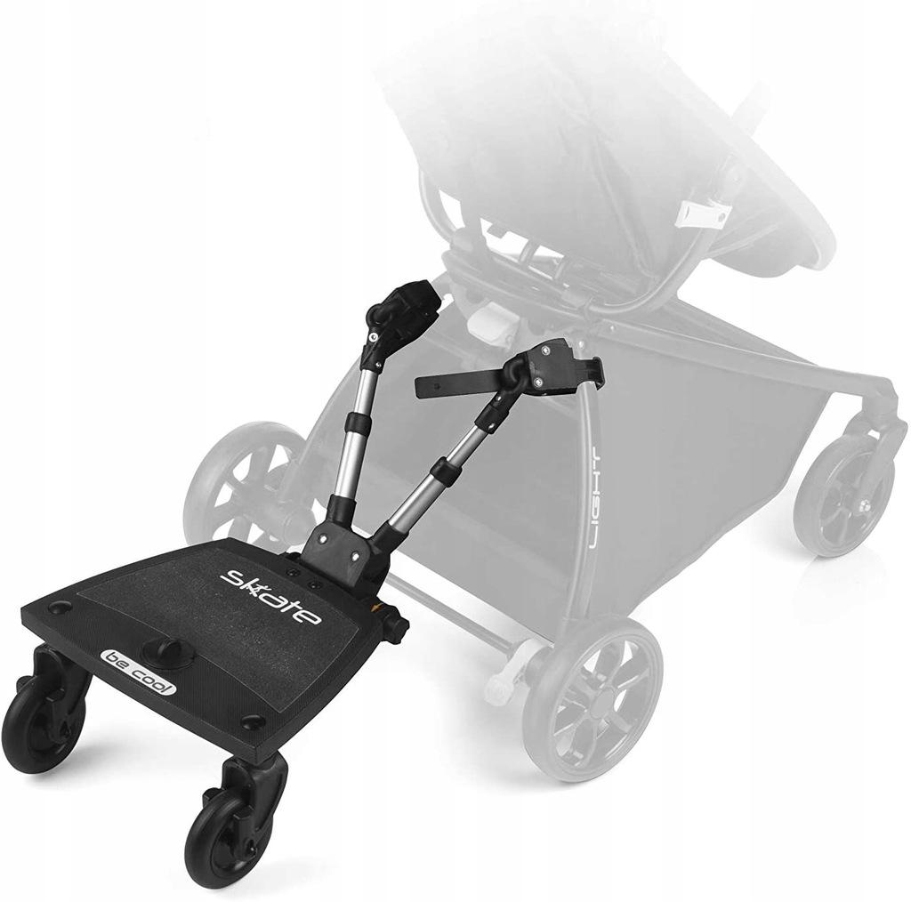 Be Cool Skate Rolki do wózka kolor czarny