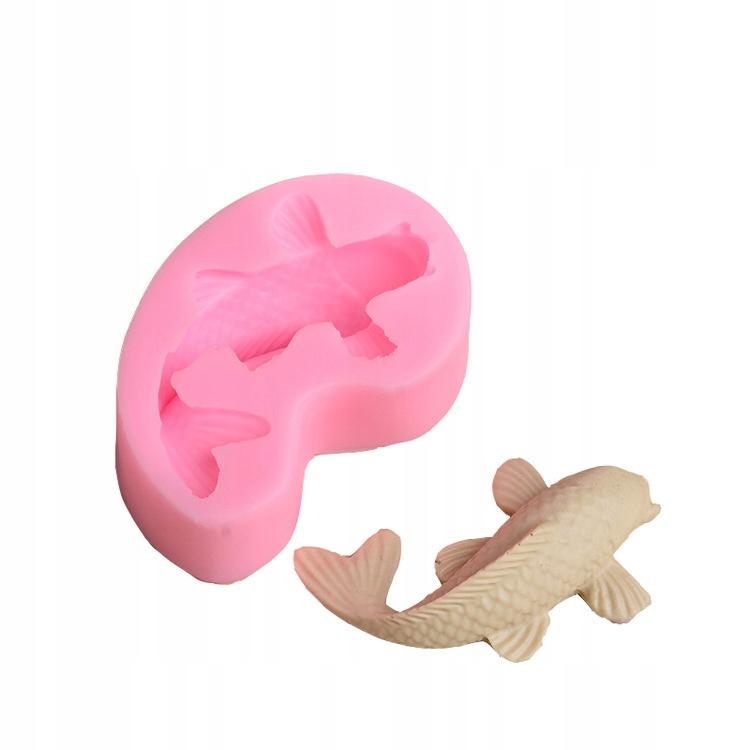Mała ryba silikonowa forma