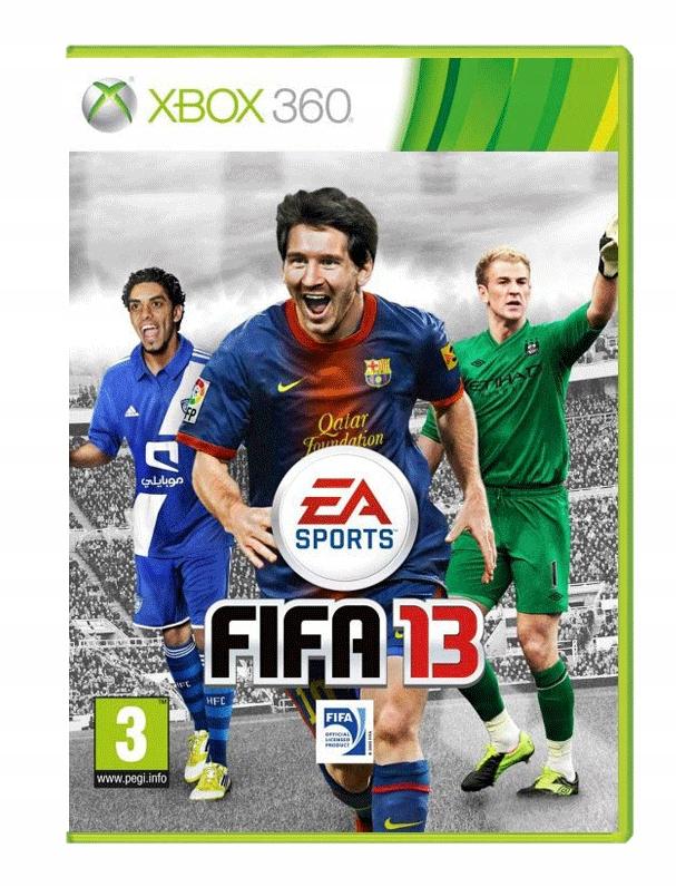 Fifa 13 Xbox 360 W Folii 7515796133 Oficjalne Archiwum Allegro