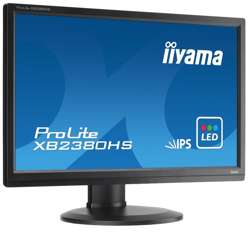Monitor IIYAMA XB2380HS 23 HDMI DVI IPS PIVOT REF