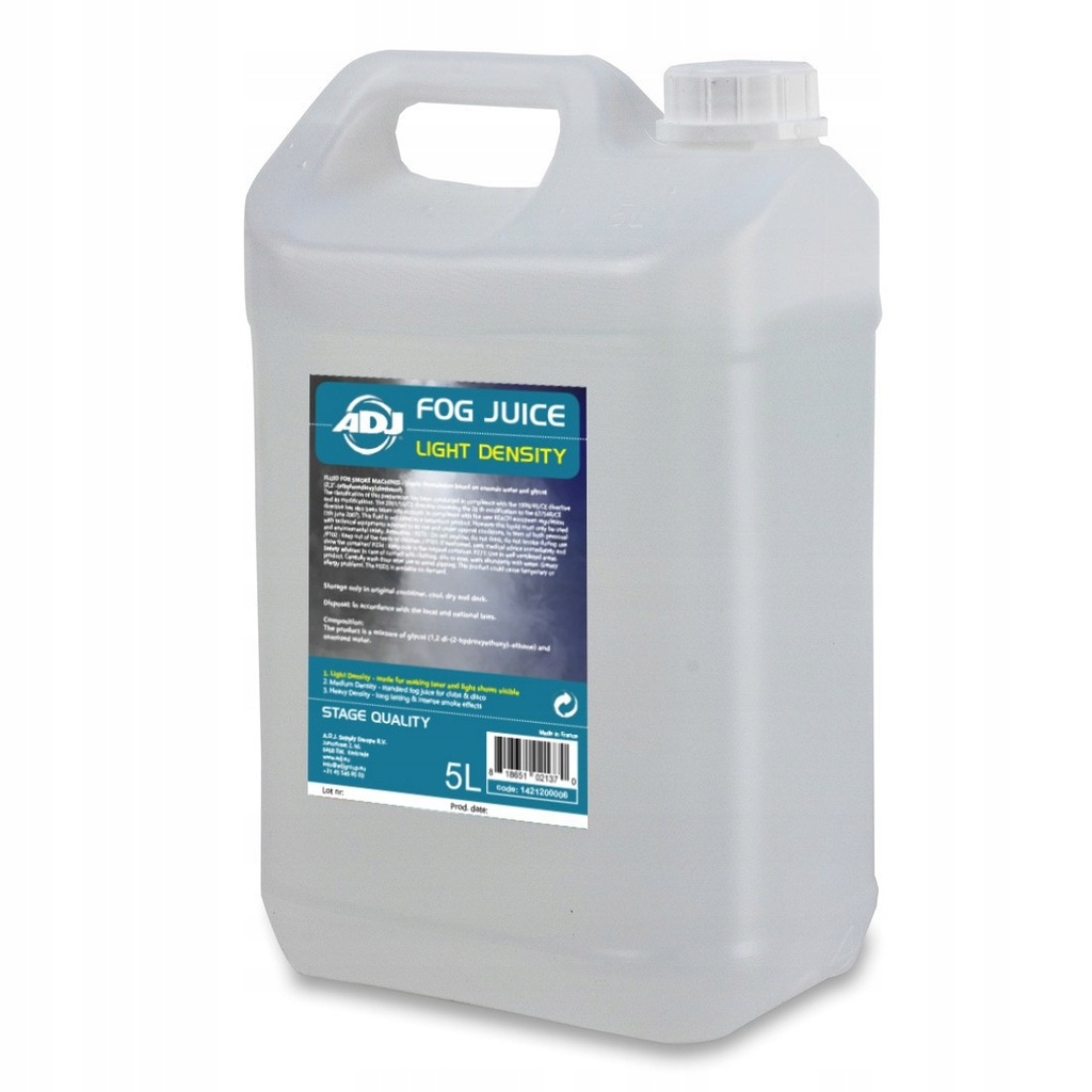 American Dj Fog juice 1 light 5 Liter płyn do dymu
