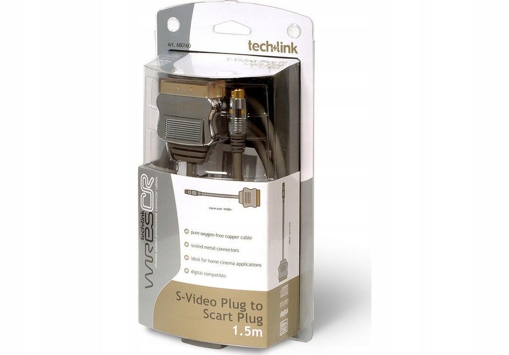 KABEL Techlink S-video Scart 680160