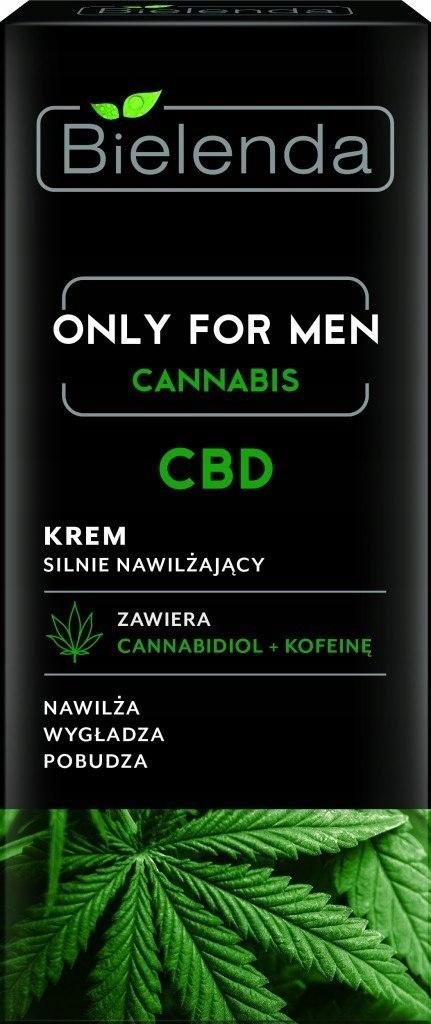 Bielenda Only for Men Cannabis CBD Krem silnie naw