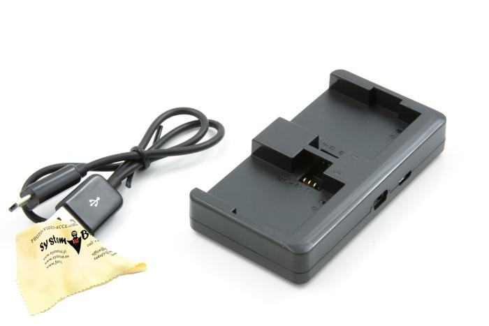 Ładowarka USB 2x Bateria do GoPro Hero 3 3+ oraz 4