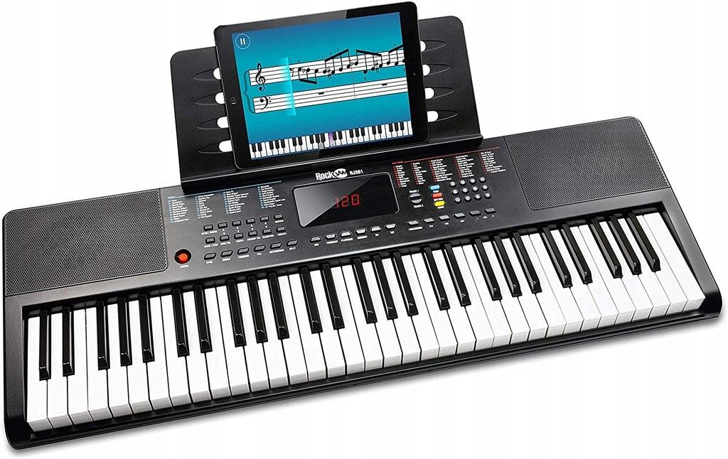RockJam RJ361 MP3 Keyboard Syntezator Organy
