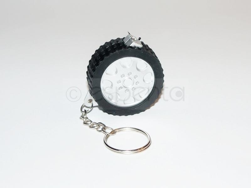 Nowy brelok - opona, koło, miara 1m - miarka 100cm