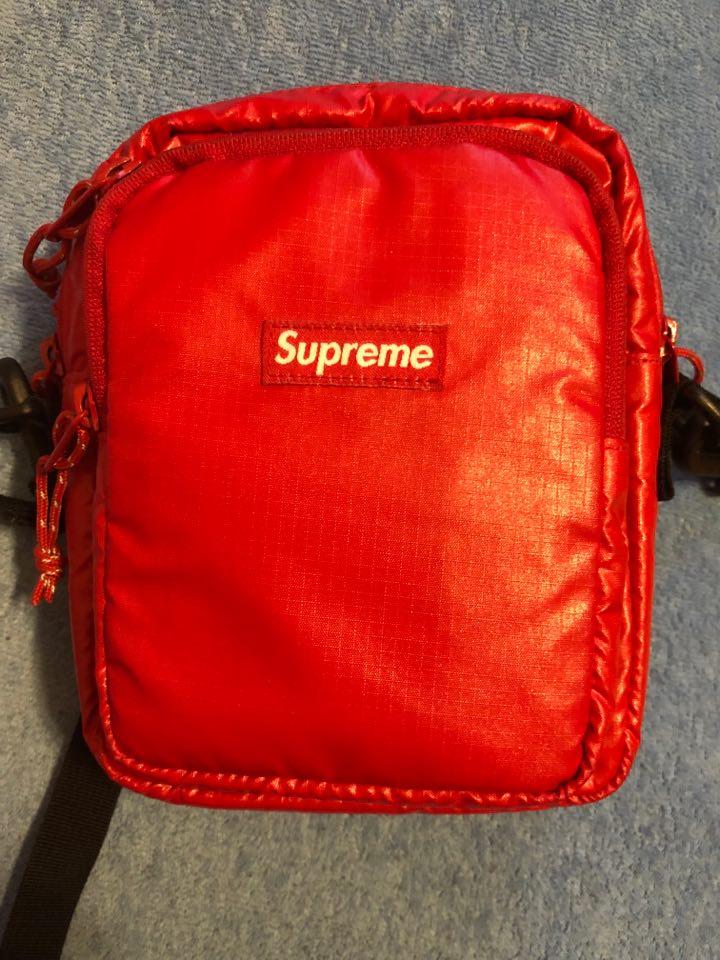 Shoulder Bag Supreme Red Fw 17 7201449635 Oficjalne Archiwum Allegro