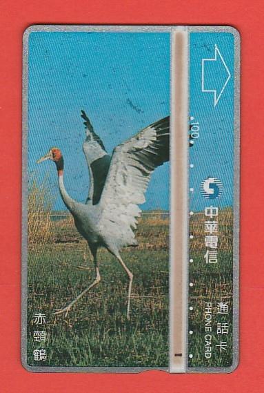 TAJWAN fauna ptak żuraw / CHT 6029 / seria 680A