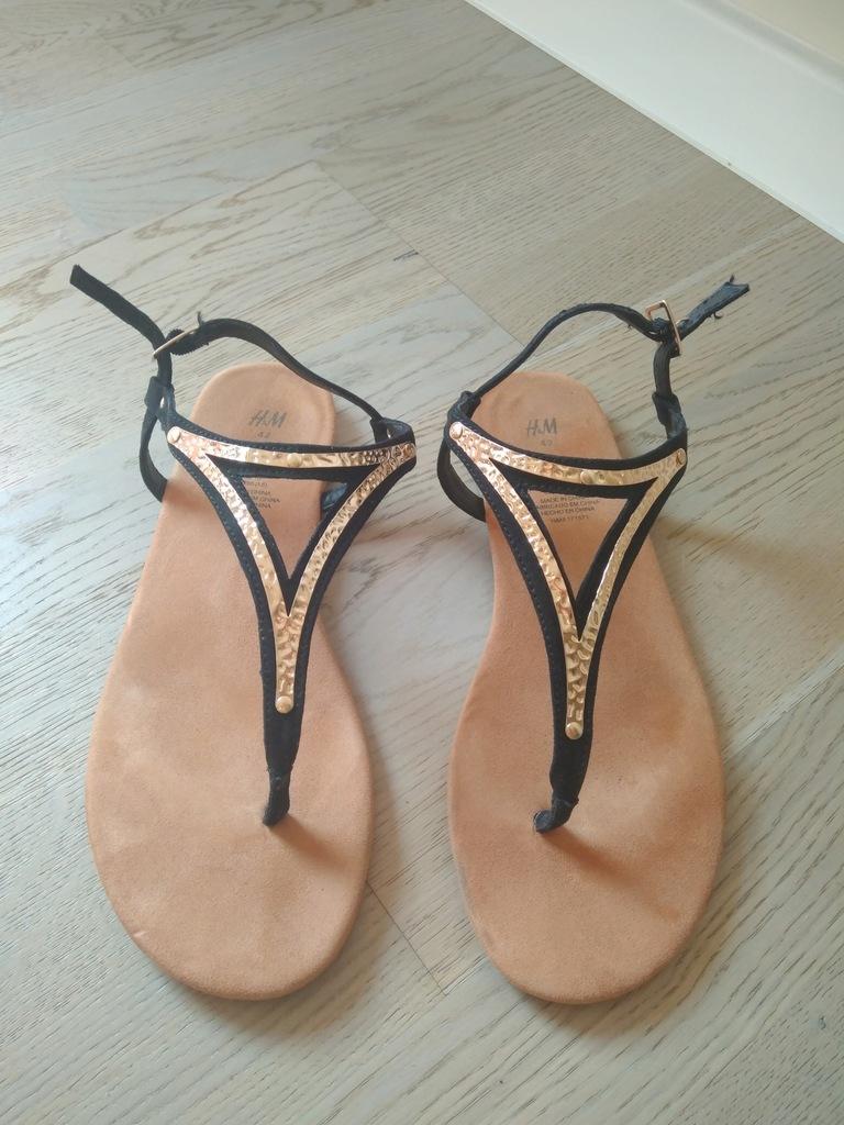 Sandałki sandały damskie HM H&M 42