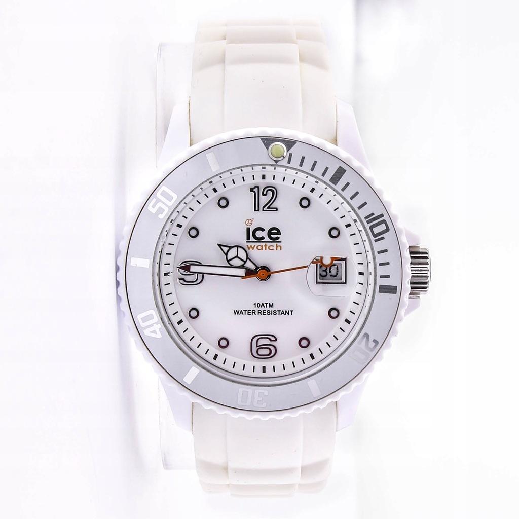 Zegarek ICE -WATCH SI.WE.U.S.09 unisex biały data