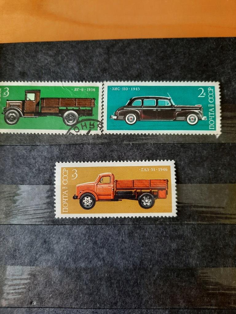 Znaczki pocztowe CCCP 1975 - 1976