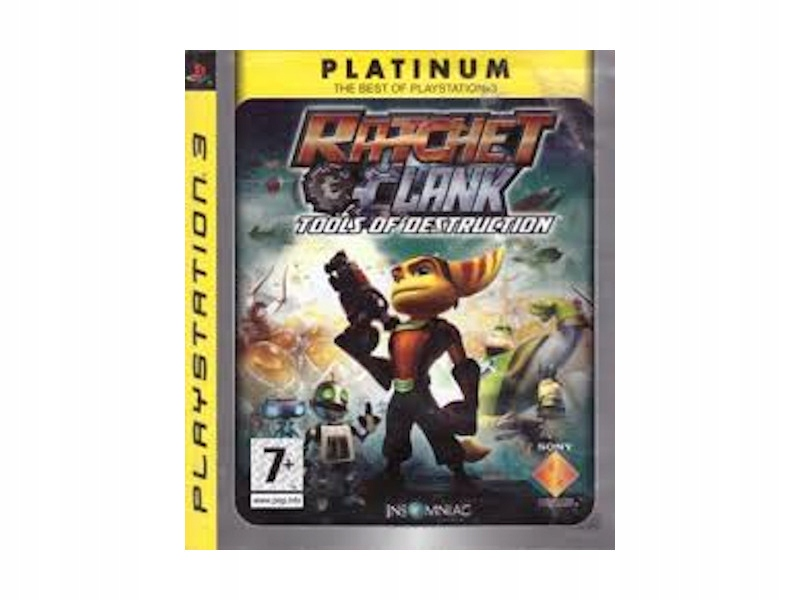 RATCHET AND CLANK TOOLS OF DESTRUCTION PS3-Używana