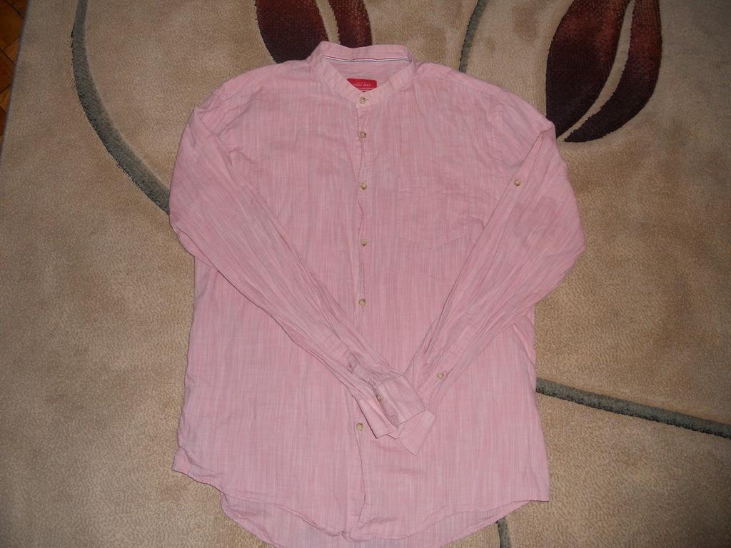 Koszula męska Zara Slim Fit XL ze stójką