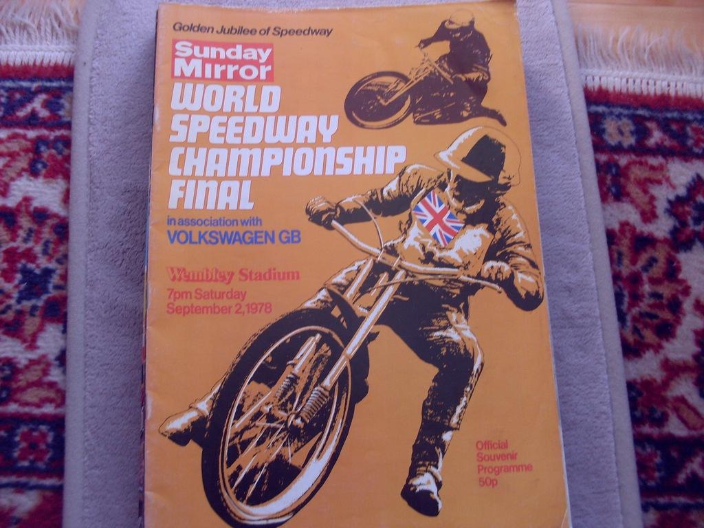 1978 Wembley Finał IMŚ - wypełniony