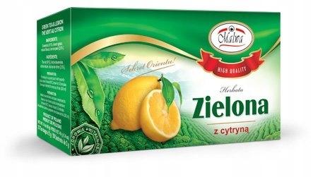 Herbata zielona + cytryna FIX 20*2g MALWA _______