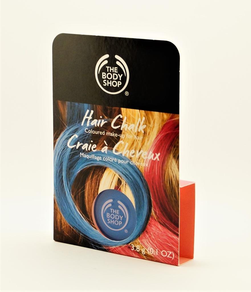 THE BODY SHOP_HAIR CHALK_kreda do włosów_niebieska