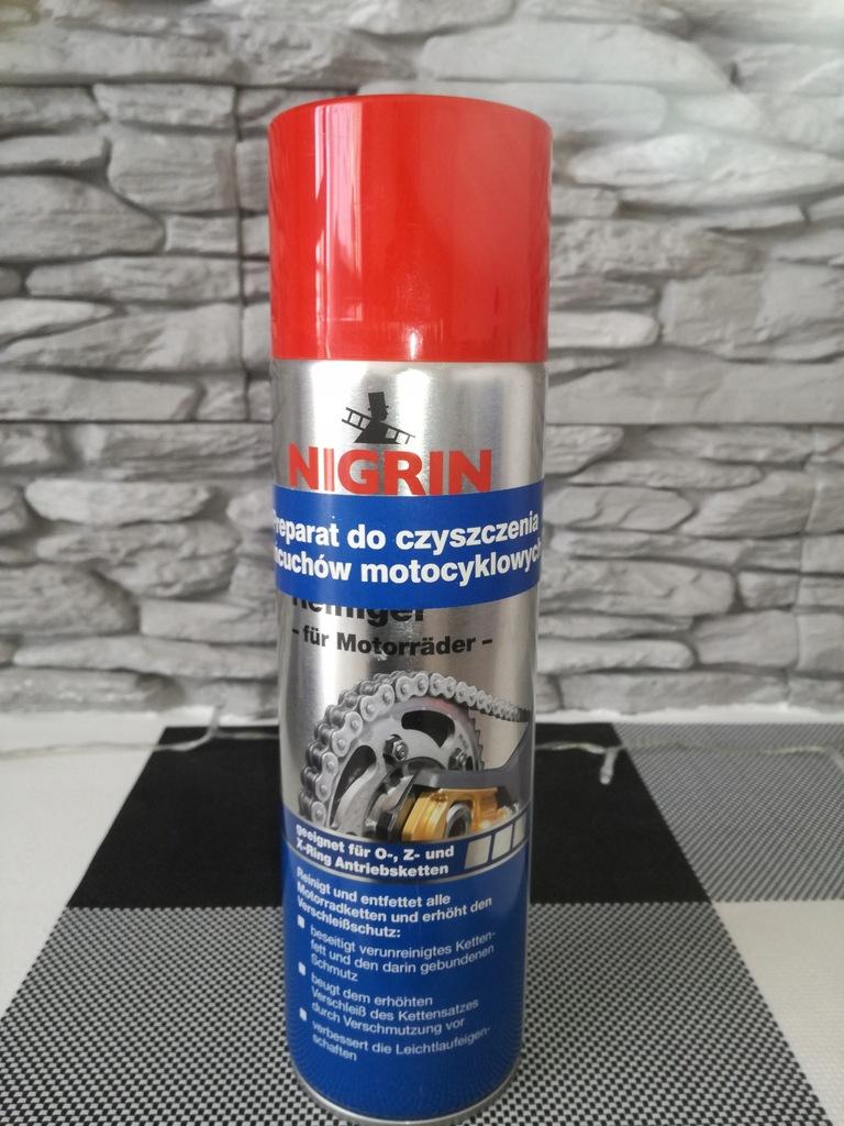 Preparat do czyszczenia łańcuchów motocykl.Nigrin