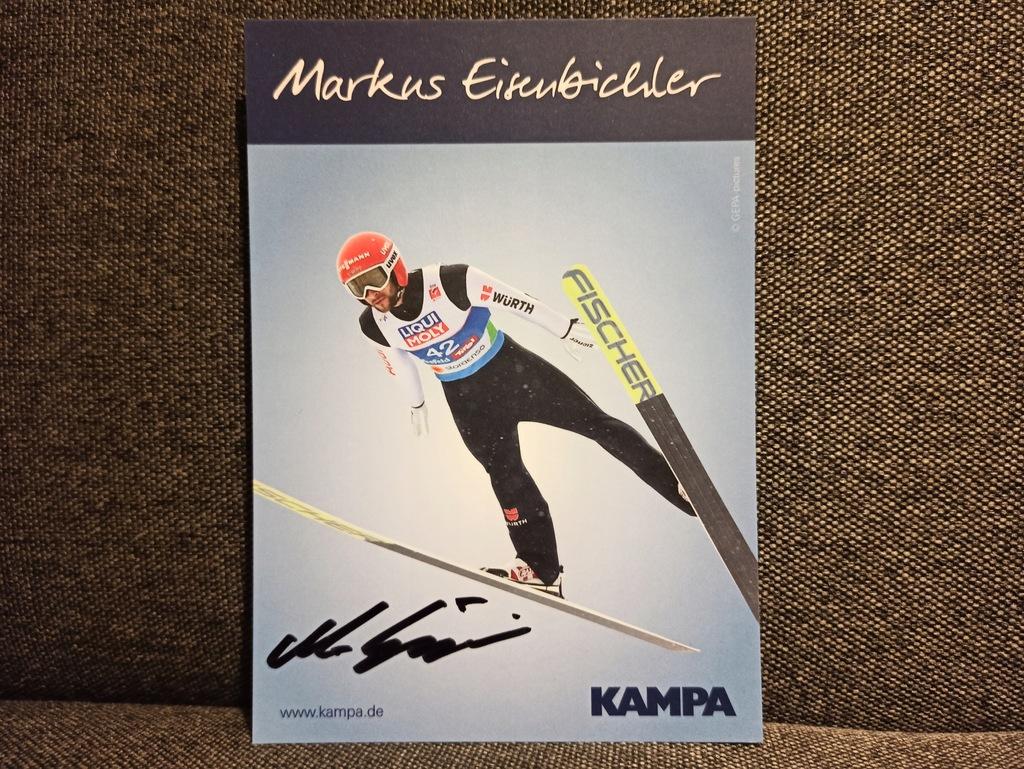 Markus Eisenbichler Skoki Narciarskie Autograf De 9954735663 Oficjalne Archiwum Allegro