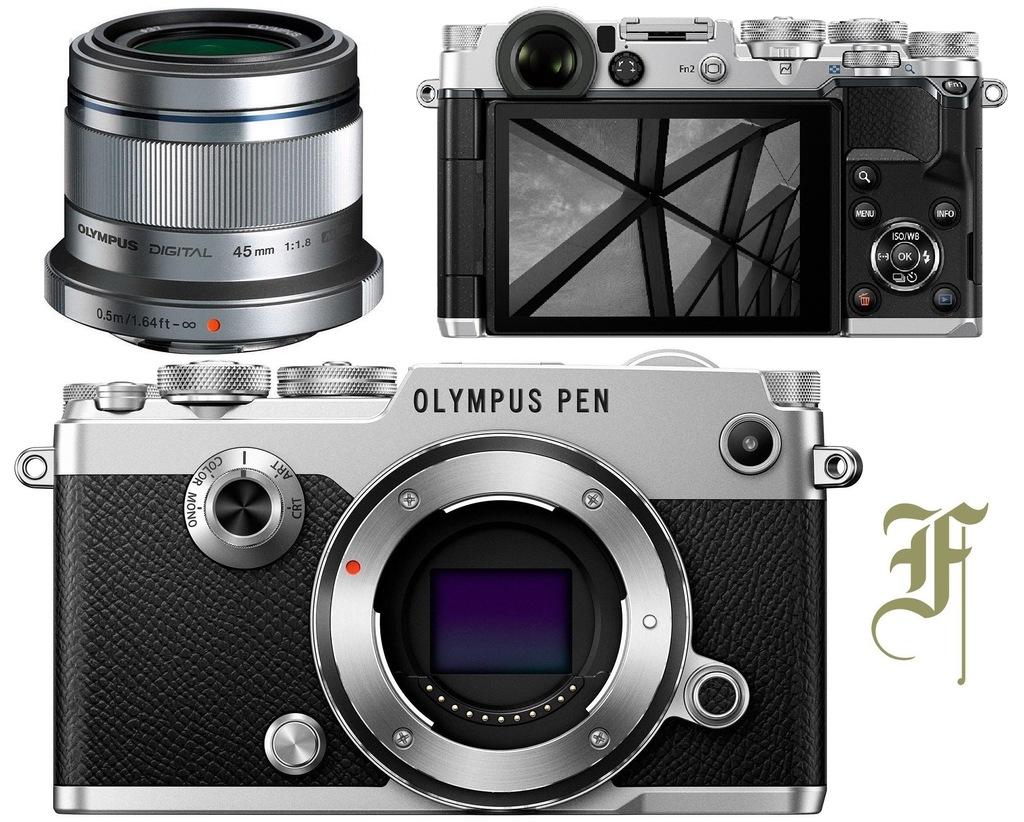 OLYMPUS PEN-F + 45mm F1.8 M.ZUIKO + LAMPA FL-LM3