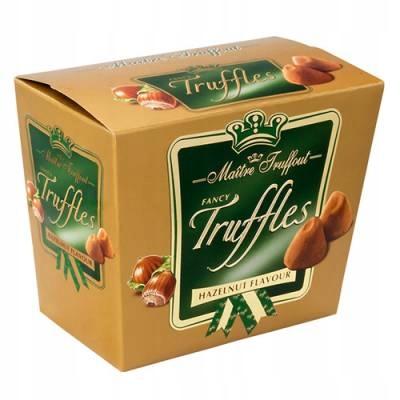 Trufle Maitre Truffout 200g. Hazelnut Flavour