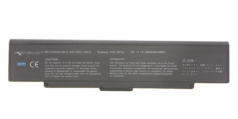 Bateria MOVANO do Sony Vaio VGP-BPL2 11,1V 4400mAh