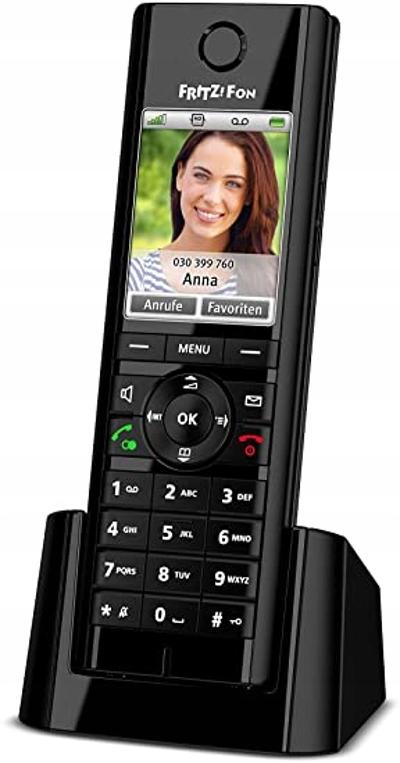 FRITZ C5 2522775 TELEFON STACJONARNY CZARNY