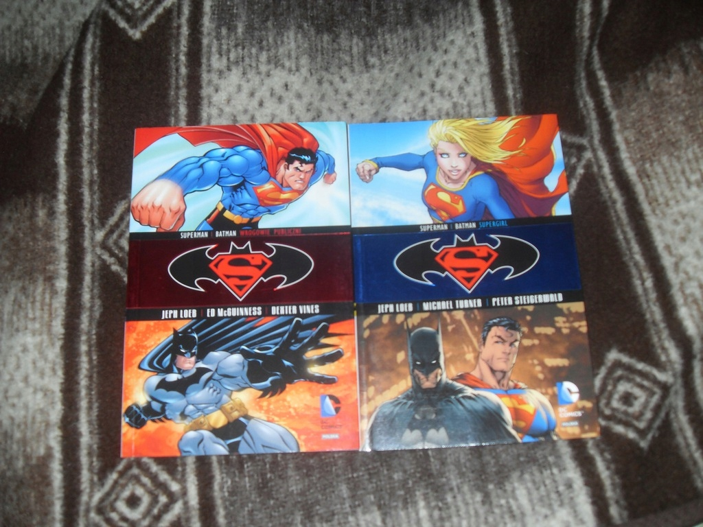 Superman Batman Wrogowie Publiczni i Supergirl