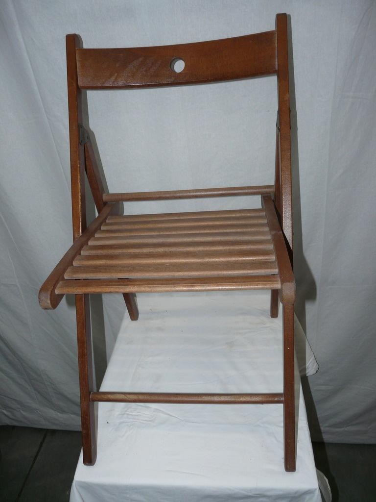 Krzesło składane Ikea