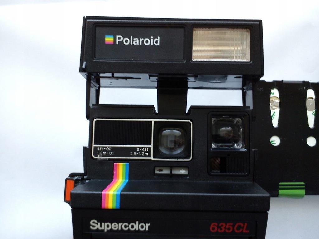 Aparat natychmiastowy POLAROID Supercolor 635CL