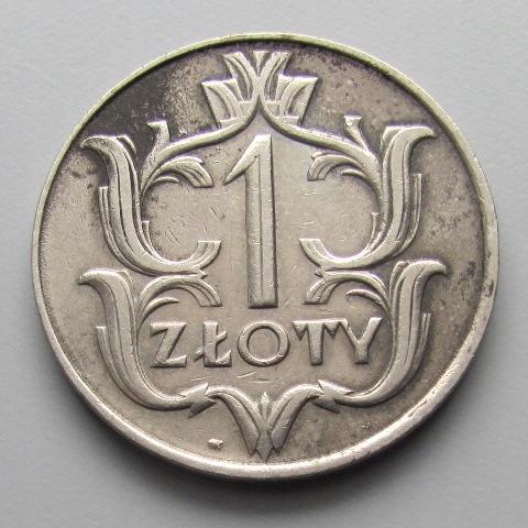 POLSKA, 1 ZŁ, 1929 (a)