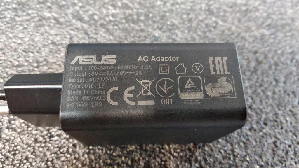 Zasilacz Asus AD2022020 10W 5V 2A Smartfon Tablet