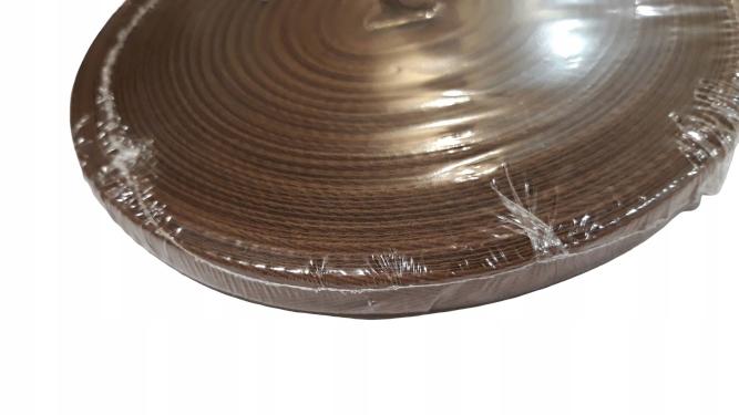 Taśma bawełniana 10 mm. /op.=50mb./ jasny brąz
