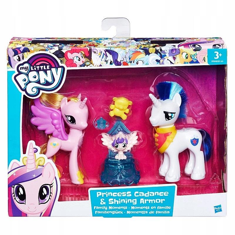 My Little Pony Rodzina Cadance I Shining Armora 7681744833 Oficjalne Archiwum Allegro