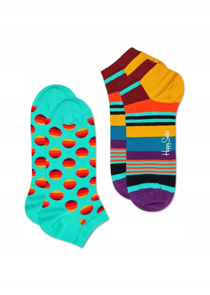 Stopki Happy Socks Sunrise Dot 36-40 (2 pary)