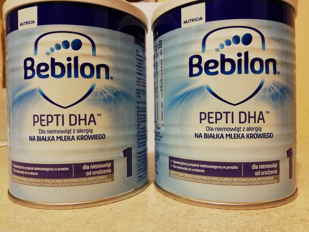 Bebilon Pepti Dha 1 400g Preparat Mlekozastepczy 7900590608 Oficjalne Archiwum Allegro