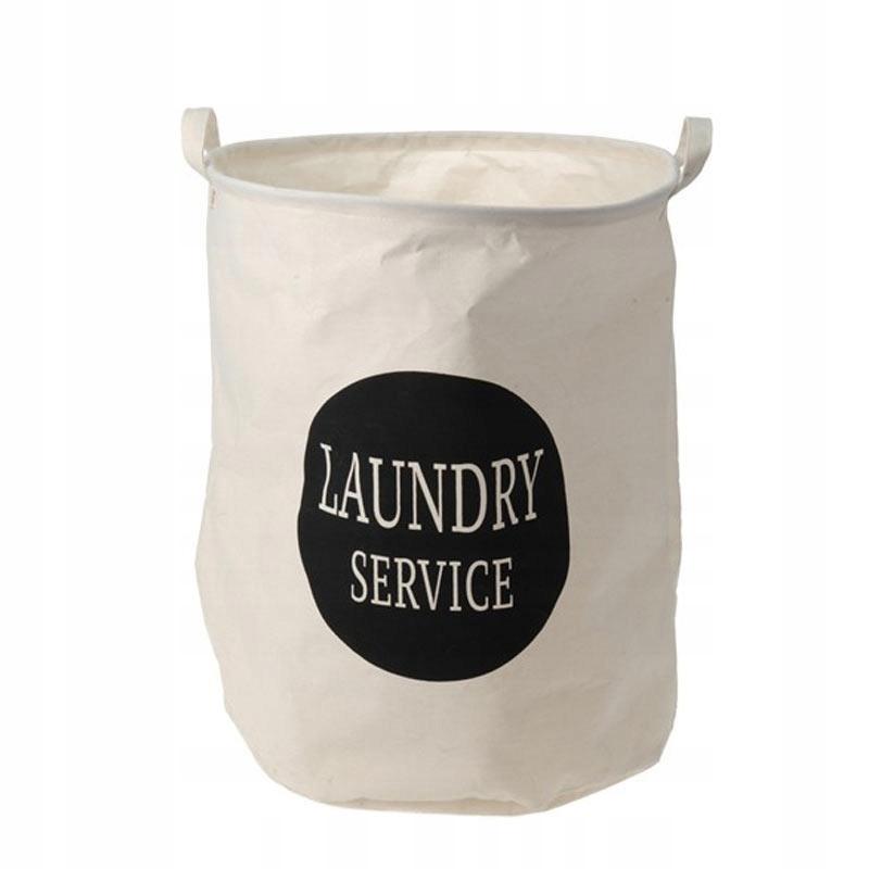 Torba kosz na pranie 40x50 cm materiałowy łazienka