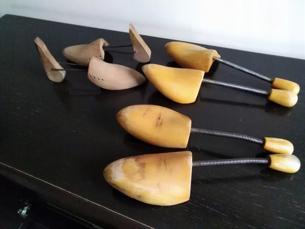 Prawidła do butów drewniane - 3 pary