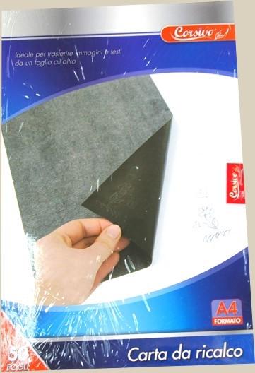 Papier do kalkowania a4 50 sztuk kalka