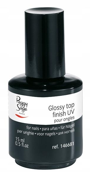 PEGGY SAGE Gloss Top Finish UV 15ml (146681)
