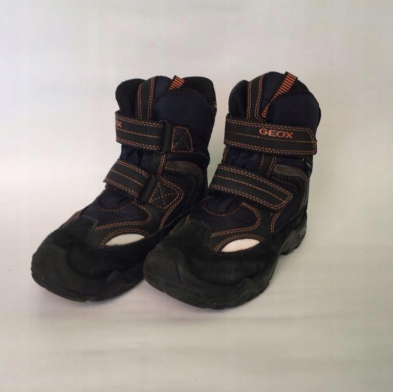 Buty zimowe chłopięce granatowe Geox, rozm 31EU