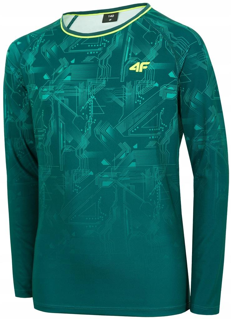 4F LONGSLEEVE Koszulka sportowa JUNIOR JTSML401