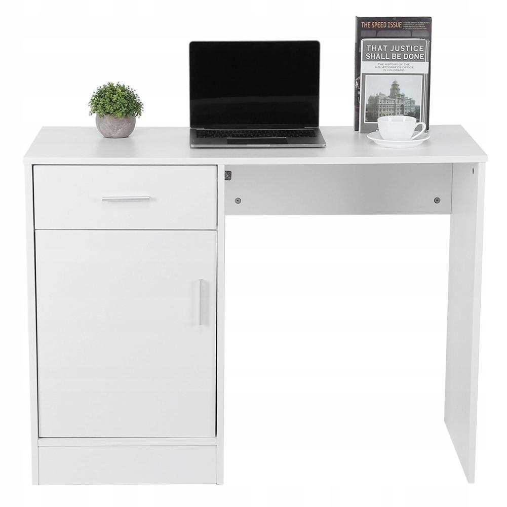100cm komputerowe biurko stolik białe Meble