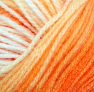 Włóczka Madame Tricote SWEET BABY pomarańczowy 312
