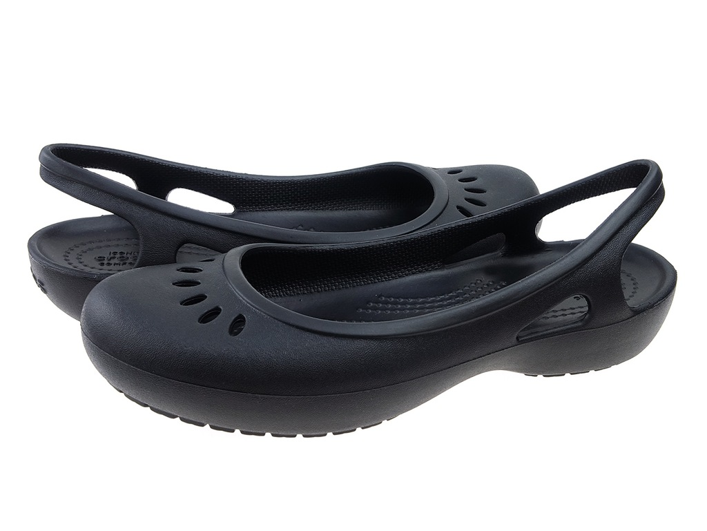 Balerinki Crocs Kadee Slingback 205077 black 3738