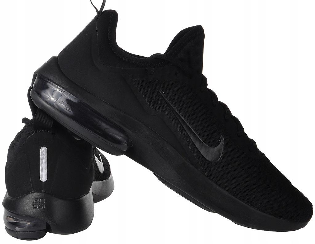 Czarne Buty sportowe męskie Rozmiar 47,5 Model Nike Air