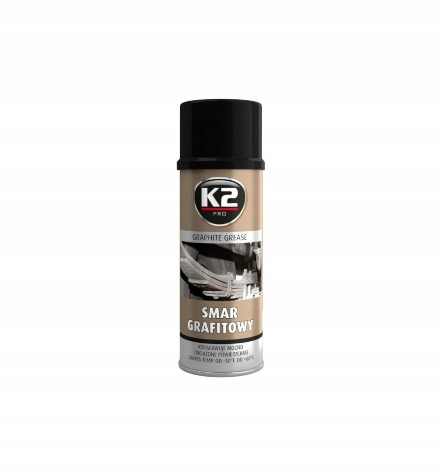 K2 Smar grafitowy spray 400ml