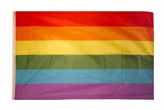 90 * 150 cm, tęczowa flaga, flaga poliestrowa
