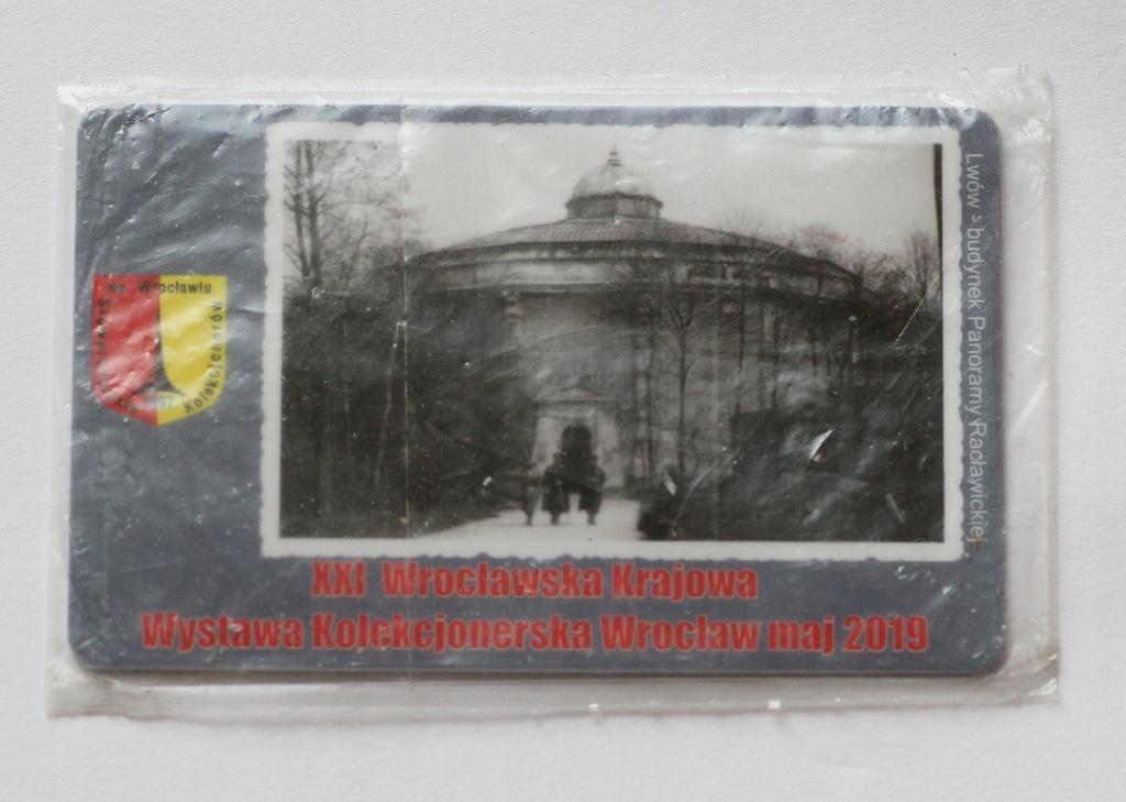 Karta XXI Wrocławska Krajowa Wystawa Kolek 2019